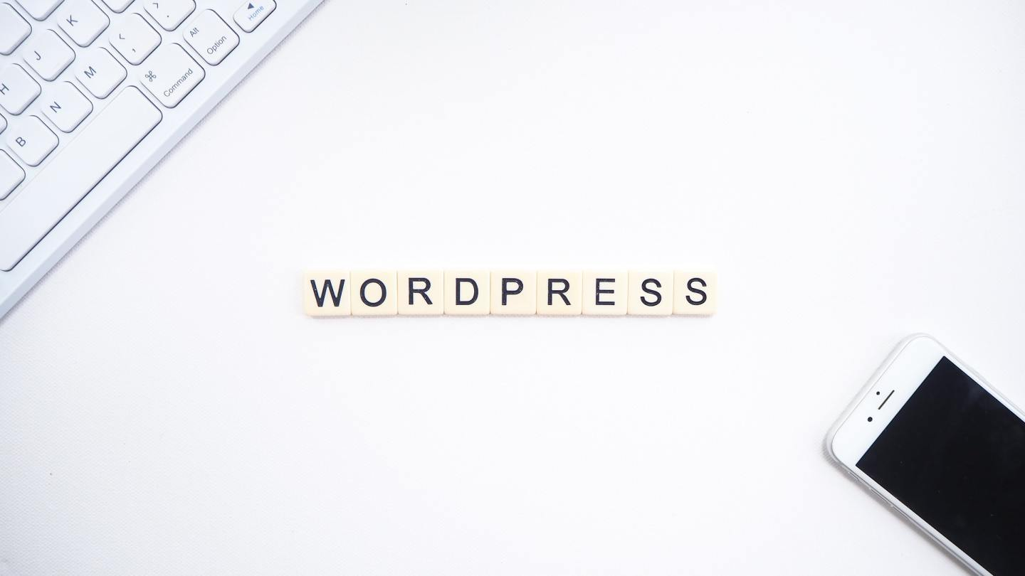 wordpress on desk