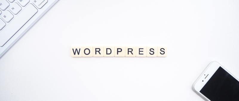 wordpress on desk